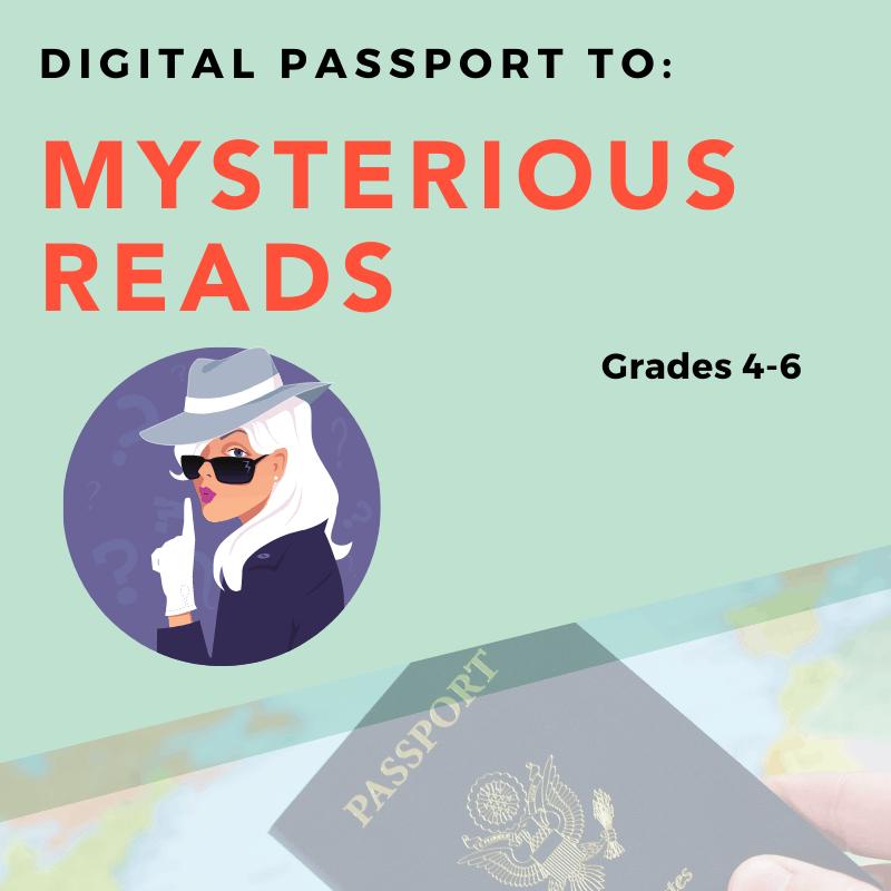 Mysterious Reads Digital Passport
