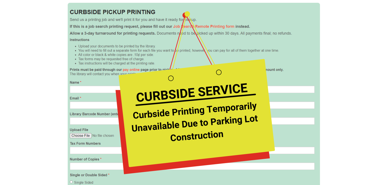 Curbside Service Temporarily Unavailable (1)